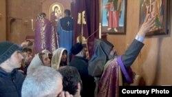 «Սուրբ խաչ» եկեղեցու օծման արարողությունը