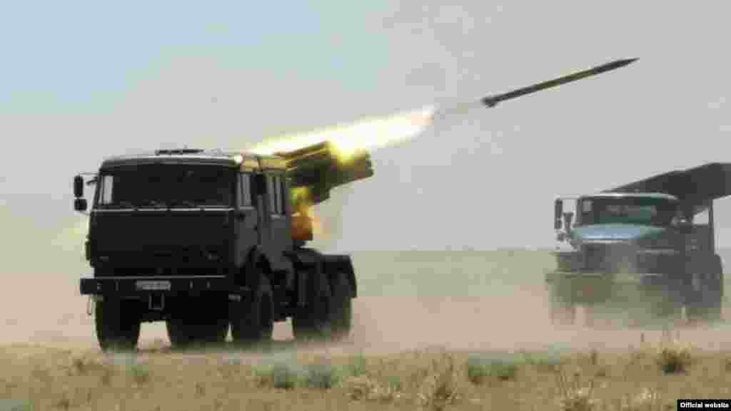 Uzbekistan - Testing modernized weapons. Photo from the website of the Ministry of Defense of Uzbekistan.
