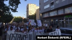Sa julskog protesta pokreta Podrži RTV
