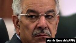 د پاکستان د بهرنیو چارو وزیر خواجه اصف