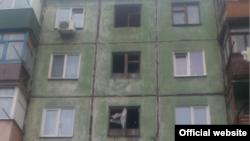 Будинок, де стався вибух, Кривий Ріг, 20 листопада 2016 року (фото з сайту ДСНС)