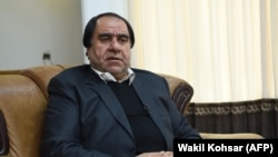 The Afghan Football Federation's former head Keramuddin Karim was banned for life earlier this year in the wake of a sexual abuse scandal. (file photo)
