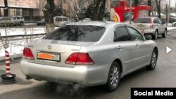 Toyota Crown с абхазскими номерами в Бишкеке. Иллюстративное фото.