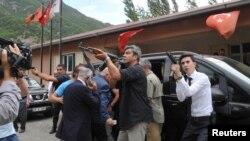 Հարձակում՝ Թուրքիայի ԺՀ ընդդիմադիր կուսակցության նախագահ Քըլըչդարօղլուի շարասյան վրա, 25-ը օգոստոսի, 2016 թ․