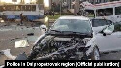 Внаслідок ДТП, що сталося 17 квітня вранці, загинули дев'ять людей, понад 20 були поранені