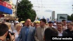 На одній із попередніх акцій «Вставай, Україно!», ілюстраційне фото