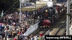 «Поезд Победы», иллюстрационное фото