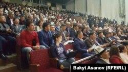 Бишкектеги оппозициянын жыйыны.