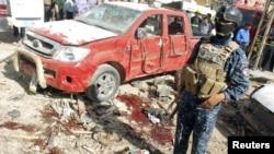 Гыйракның Кут шәһәрендә террор гамәле булган урын