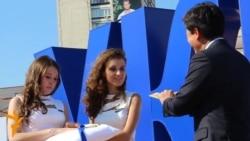 У Києві відкрили символ підтримки олімпійців