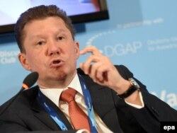 "Алексей Миллер, раҳбари ""Газпром"""