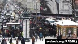 Киевдеги нааразылык акциядан, 9-декабрь, 2013.