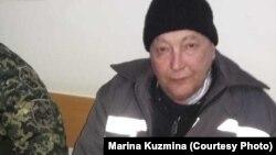 Заключенный колонии общего режима в поселке Заречный Алматинской области Василий Кузьмин в областной многопрофильной клинике близ Алматы. Фото снято его сестрой Мариной Кузьминой 20 марта 2019 года.