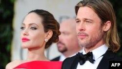 Holivudski glumački par Angelina Jolie i Brad Pitt
