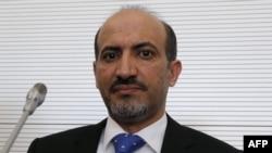 Лидерот на сириската Национална Коалиција Ахмед ал Џарба