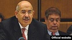 محمد البرادعی از ایران خواست تا سنگ اندازی در مسیر بازرسی ها را متوقف کند.(عکس: IAEA)