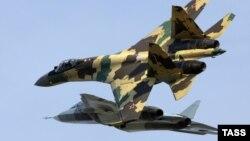 Истребители Су-35. Иллюстративное фото.