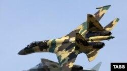 """Российские истребители Су-35С поколения """"4++"""""""