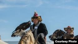 Казахи в Баян-Улгийском районе Монголии