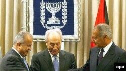 شیمون پرز با وزیران امور خارجه اردن و مصر دیدار کرد.