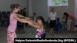 Урок танців для людей з обмеженими можливостями