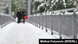 Sarajevo pod snijegom, 14. maj 2012.