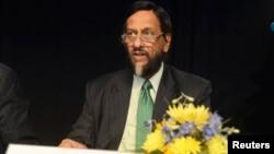 Индийский эксперт по вопросам изменения климата Раджендра Пачаури.