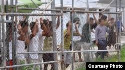 Лагерь беженцев на острове Манус