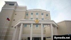 Здание российского посольства в Минске