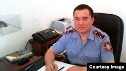 Еркин Тугелбайулы, заместитель начальника управления комитета административной полиции МВД.