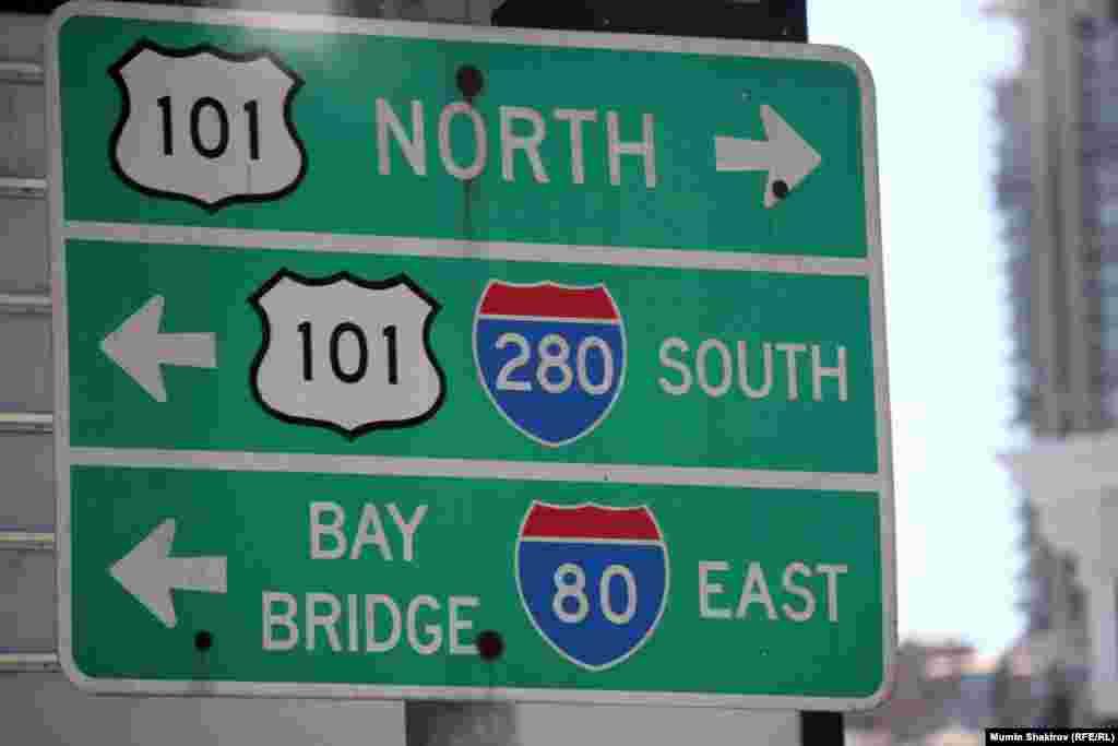 Знаменитый хайвей номер 101 соединяет Сан-Франциско, Лос-Анджелес, Сан-Диего и другие города США