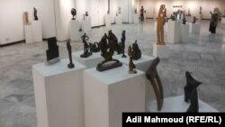 المعرض السنوي للنحت والخزف في بغداد