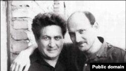 Петр Якир и Виктор Красин (справа)