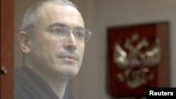 Михаил Ходорковский, қамаудағы ресейлік олигарх