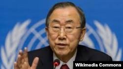 بان گی مون، دبیرکل سازمان ملل متحد