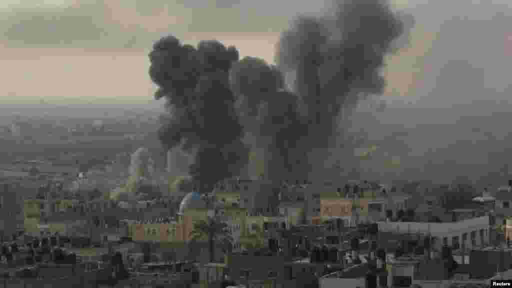 Palestina - Gaza, 21. novembar 2012. Foto: REUTERS / Ibraheem Abu Mustafa