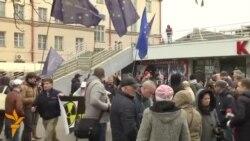 Протест во Минск против изградба на нуклеарна централа
