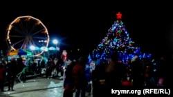 Відкриття головної ялинки Керчі, 22 грудня 2018 рік