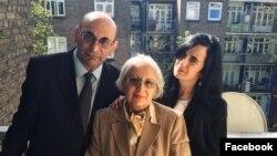 Ариф и Лейла Юнус с дочерью Динарой.