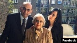 Arif Yunus, Leyla Yunus və qızları Dinara