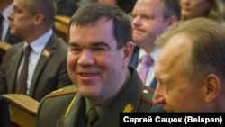 Старшыня КДБ Беларусі Валерый Вакульчык, архіўнае фота