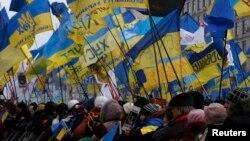 Киевтегі шеру. 15 желтоқсан 2013 жыл.