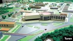 Sumqayıt sənaye parkının modeli
