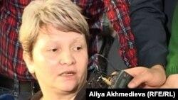 Светлана Ващенко, Владислав Челахтың анасы. Талдықорған, 19 қараша 2012 жыл