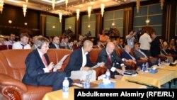 جانب من جلسات مؤتمر الموانئ العراقية