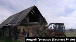 """Кадр из фильма """"Прощай: Ангара"""". Режиссер Андрей Гришаков"""