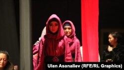 Мода көргөзмөсү, Бишкек