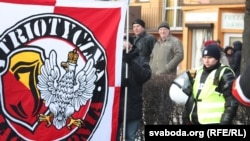 Марш националистов в одном из польских городов