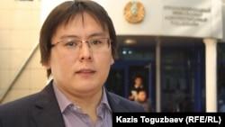 Жанболат Мамай, журналист и гражданский активист. Алматы, 23 сентября 2013 года.