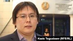 Журналист Жанболат Мамай. Алматы, 23 қыркүйек 2013 жыл.